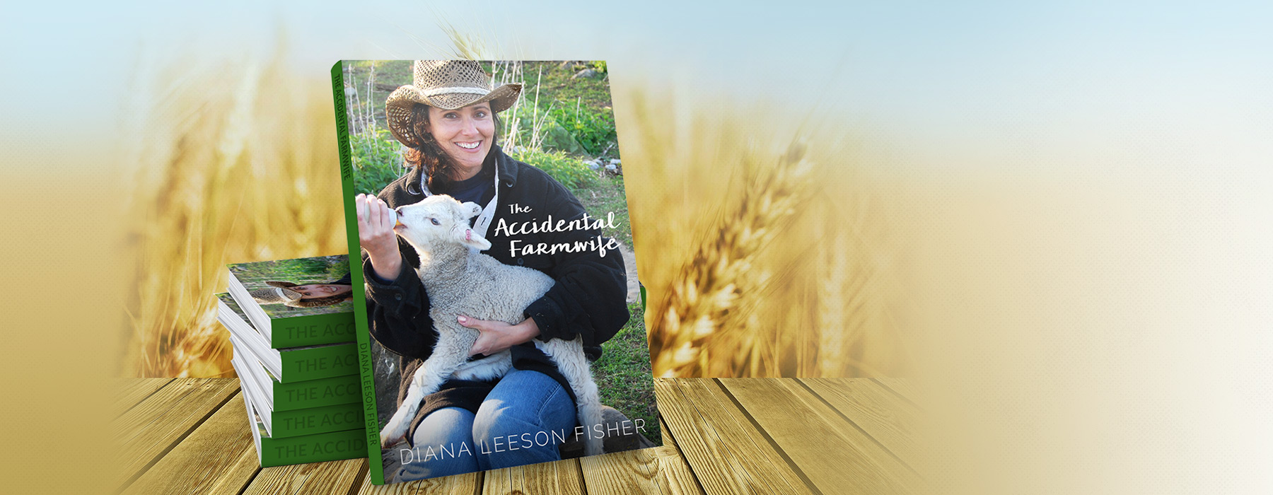 Diana Leeson Fisher author of The Accidental Farmwife